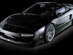 NSX - NA1 - 3 Point Set: Front Bumper Spoiler with FRP under cover + Side Steps + Rear Bumper Spoiler with FRP under flap - Construction: FRP - Colour: Unpainted - NSX-3PS-FRP