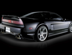 NSX - NA1 - Rear Bumper Spoiler with FRP Under Flap - Construction: FRP - Colour: Unpainted - NSX-RBS-FRP