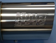 MN3040 Nissan - Skyline - ER34 - RB25DET - 98/06-01/06 - 2 Door - NUR-R - Pipe Size 80mm - Tip 114.3