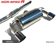 EVO X - CZ4A - Pieces: 2 - Pipe Size: 80-60Wmm - Tail Size: 2x 114.3mm - MM3050