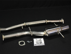 Impreza WRX - GDA - Pieces: 2 - Pipe Size: 80mm - Tail Size: 114.3mm - MS3070