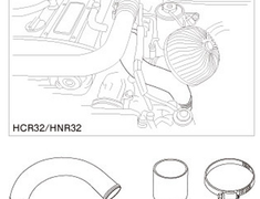 Greddy - Intake Piping Set - HCR32/HNR32 - 12020912