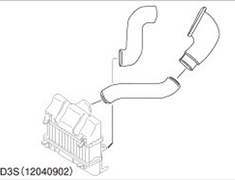 Greddy - Intake Piping Set - FD3S - 12040902