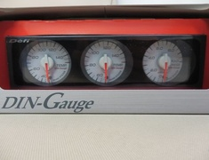 DF05609 White Dial - Red Characters - Red Illumination