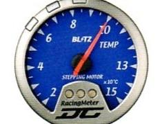 Racing Meter - DC II - Temperature - Blue