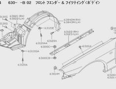 Nissan - OEM Parts - Skyline R34 GTR