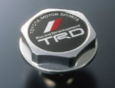 TRD - Oil Filler Cap - Silver