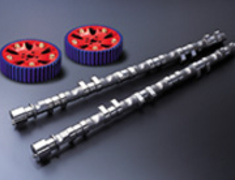 Tomei - Pon Camshafts + Pulley Set