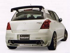 Suzuki Sport - Sports SP-X Dual Muffler