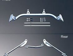 Kansai Service - Front Lower Arm and Rear Brace Kit