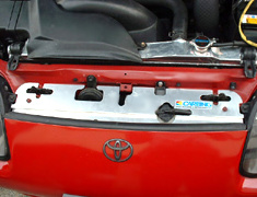 Carbing - Radiator Cooling Plate - Toyota