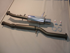 Impreza - GC8/GF8 Ver1-2 - 31006-AF009 - Subaru - Imprezza GC8 - 2 Piece - Pipe 75mm - Tail 120mm