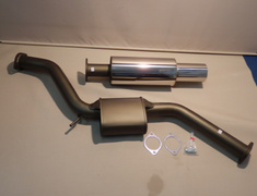 Supra JZA80 NA - 32003-AT009 - Toyota - Supra JZA80 - 2 Piece - Pipe 75mm - Tail 120mm