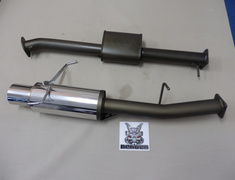 Skyline - R34 GTT - ER34 - 31006-AN016 - Nissan - Skyline ER34 4 Door - 2 Piece - Pipe 85mm - Tail 120mm