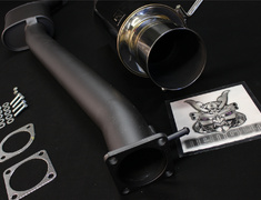 Skyline - R33 GTR - BCNR33 - 31006-AN013 - Nissan - Skyline BCNR33 - 2 Piece - Pipe 95mm - Tail 120mm