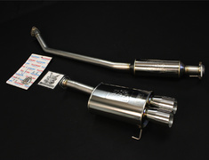 Civic Type R - EP3 - Pieces: 2 - Pipe Size: 60.5mm - Tail Size: 90mm Twin - 760-52061