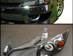 Silk Road Section - Headlight Intake - S15