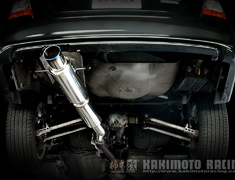 Forester STi - SG9 - Tail Muffler Only - Pieces: 1 - Pipe Size: 80mm - Tail Size: 100mm - B21310