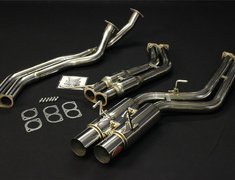 Skyline GT-R - BNR32 - Pieces: 3 - Pipe Size: 2x70mm - Tail Size: 2x127mm - NF1C08
