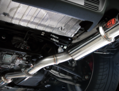 Lancer Evolution X - CZ4A - Single Tail - Pipe Size: 80mm - M31328
