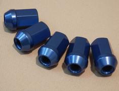 5 x Spoon - Wheel Nut  Honda - All Models - Blue
