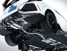 Civic Type R - FK8 - Pieces: 3 - Pipe Size: 70mm - Tail Size: 2x70mm - 18000-FK8-000