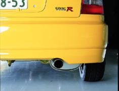Civic - EG6 - Pieces: 1 - Pipe Size: 60mm - Tail Size: 75mm - 18030-EG6-000