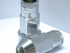 5zigen - Racing Nuts - Koma - Chrome