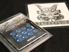 Pro Racer - Blue 20 x M12-1.25 (19Hex) - 4 Locks