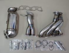 Civic Type R Euro - FN2 - 18100-XLR-K0S0 - Honda - Civic Type R Euro - FN2 - 4-2-1 Design + Catalyzer