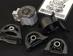 Integra Type R - DC2 - Engine Mount: 5 Piece Set - 50800-XH4-S1N0