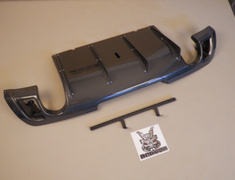 Kansai Service - Rear Diffuser - Suzuki Swift