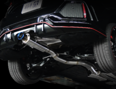 Civic Type R - FK8 - Pieces: 3 - Pipe Size: 80mm - Tail Size: 90mm - Weight: 9.5kg - H113119