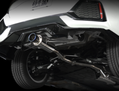 Civic - FK7 - Pieces: 3 - Pipe Size: 60mm - Tail Size: 90mm - H113118
