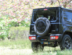 Jimny - JB64W - Pipe Size: 45mm - Tail Size: 80mm - Body Type: A Body - Body Type: Matte Body - Tail Type: A Tail Gold Ring - Tail Type: Matte Tail - 4580506115508