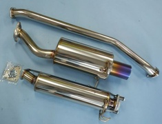 Civic Type R - EP3 - Pieces: 3 - Pipe Size: 60mm - Tail Size: Straight 100mm - Weight: 11.7kg - 18000-EP3-001