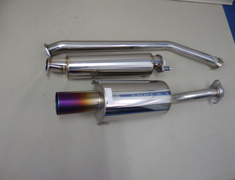 Integra Type R - DC5 - Pieces: 3 - Pipe Size: 60mm - Tail Size: Straight 100mm - Weight: 12kg - 18000-DC5-001
