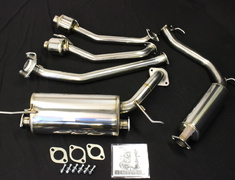 Civic Type R Euro - FN2 - Pieces: 5 - Pipe Size: 50mm - Tail Size: Twin 50mm - Weight: 18.5kg - 18000-FN2-000