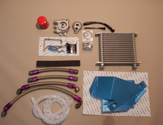 HKS - Oil Cooler Kit - Type R