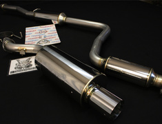 Civic Type R - EK9 - Pieces: 2 - Pipe Size: 60.5mm - Tail Size: 89mm - 260-52052