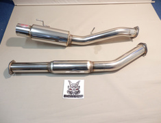 Skyline GT-R - BNR32 - Pipe Size: 90mm - Tail Size: 115mm - NF1E08