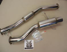 Skyline GT-R - BNR34 - Pipe Size: 90mm - Tail Size: 115mm - NF1E52