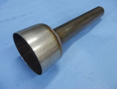 - Type: GT1 OZ Racing - Tail Diameter: 89.1mm - Pipe Diameter: d1:42.7mm d2:31.8mm - Length: L:314mm L