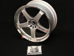 19inch - 8.5J - Chrome Silver - 5H x 114.3 - +25