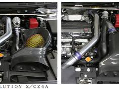 HKS Kansai - Carbon Fiber Air Box Kit - Evo X
