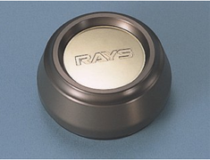 Nissan - Rays Logo - Colour: Bronze - Height: Standard Type - Quantity: 1 - 40315-RN850-BR