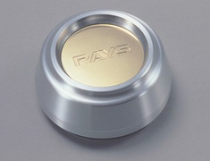 Nissan - Rays Logo - Colour: Silver - Height: Standard Type - Quantity: 1 - 40315-RN850-S