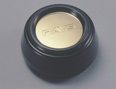 Nissan - Rays Logo - Colour: Black - Height: Standard Type - Quantity: 1 - 40315-RN850-BK