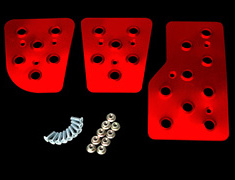 Carbing - Pedal Set - Red