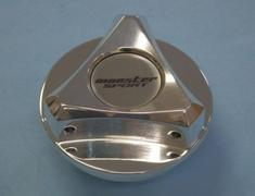 Monster - Racing Oil Filler Cap Silver Aluminum